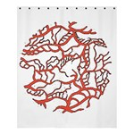 Twenty One Pilots Tear In My Heart Soysauce Remix Shower Curtain 60  x 72  (Medium)  54.25 x65.71 Curtain