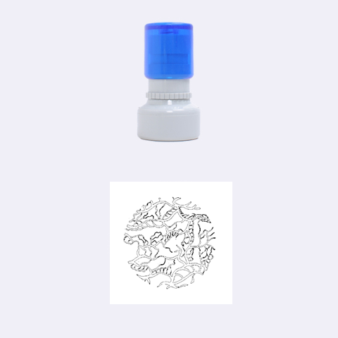 Twenty One Pilots Tear In My Heart Soysauce Remix Rubber Round Stamps (Small)