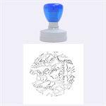 Twenty One Pilots Tear In My Heart Soysauce Remix Rubber Round Stamps (Large) 1.875 x1.875  Stamp