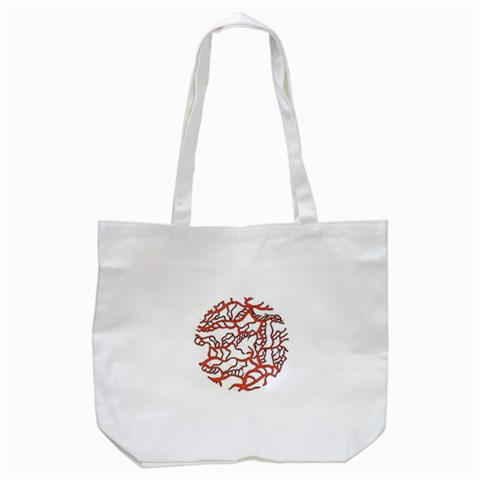 Twenty One Pilots Tear In My Heart Soysauce Remix Tote Bag (White)