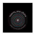 Twenty One Pilots Tile Coasters Front