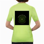 Twenty One Pilots Women s Green T-Shirt Back