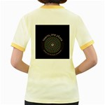 Twenty One Pilots Women s Fitted Ringer T-Shirts Back