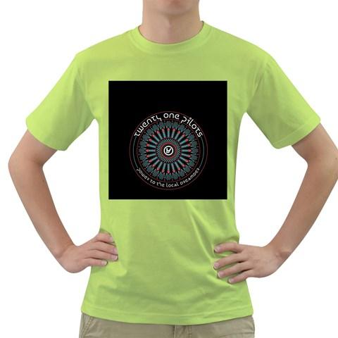 Twenty One Pilots Green T-Shirt