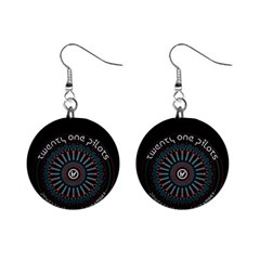 Twenty One Pilots Mini Button Earrings