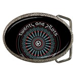 Twenty One Pilots Belt Buckles Front