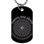 Twenty One Pilots Dog Tag (One Side) Front