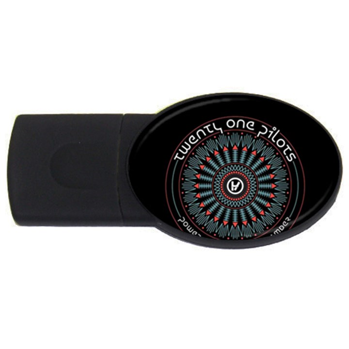 Twenty One Pilots USB Flash Drive Oval (2 GB)