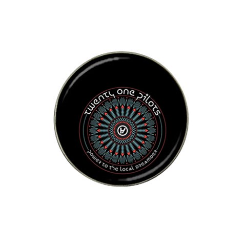 Twenty One Pilots Hat Clip Ball Marker