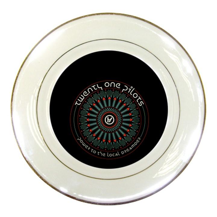 Twenty One Pilots Porcelain Plates