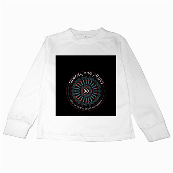 Twenty One Pilots Kids Long Sleeve T-Shirts