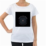 Twenty One Pilots Women s Loose-Fit T-Shirt (White) Front