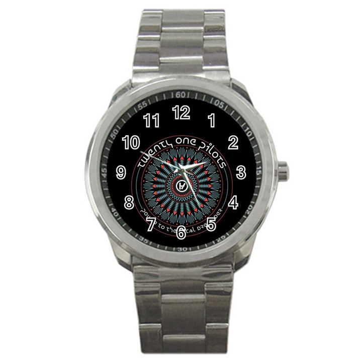 Twenty One Pilots Sport Metal Watch