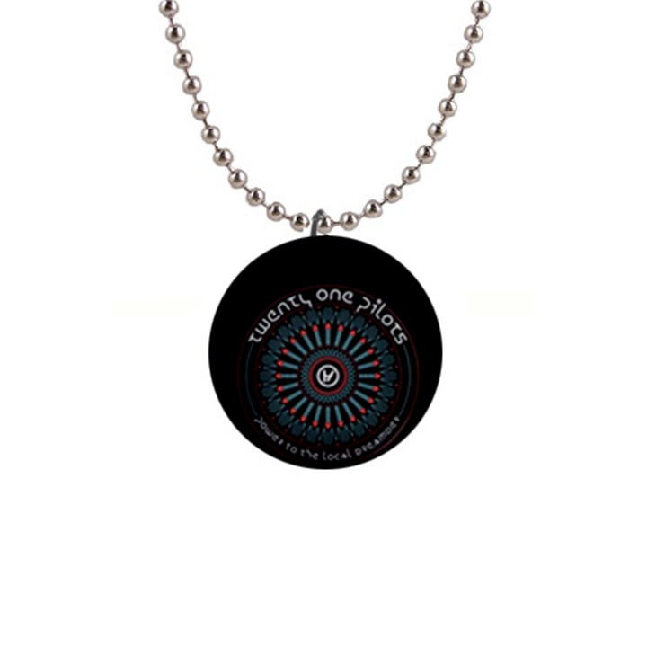Twenty One Pilots Button Necklaces
