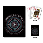 Twenty One Pilots Playing Card Back