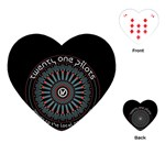 Twenty One Pilots Playing Cards (Heart)  Front