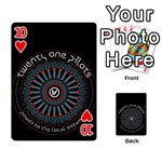 Twenty One Pilots Playing Cards 54 Designs  Front - Heart10