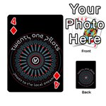 Twenty One Pilots Playing Cards 54 Designs  Front - Diamond4