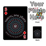 Twenty One Pilots Playing Cards 54 Designs  Front - Diamond5