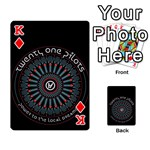 Twenty One Pilots Playing Cards 54 Designs  Front - DiamondK
