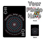 Twenty One Pilots Playing Cards 54 Designs  Front - ClubK