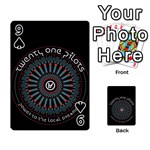 Twenty One Pilots Playing Cards 54 Designs  Front - Spade9