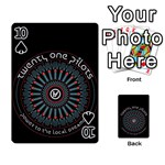 Twenty One Pilots Playing Cards 54 Designs  Front - Spade10