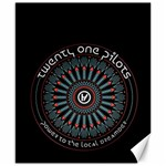 Twenty One Pilots Canvas 8  x 10  10.02 x8 Canvas - 1