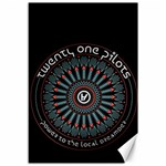 Twenty One Pilots Canvas 12  x 18   18 x12 Canvas - 1