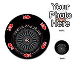 Twenty One Pilots Playing Cards 54 (Round)  Front - HeartK