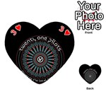Twenty One Pilots Playing Cards 54 (Heart)  Front - Heart3