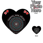 Twenty One Pilots Playing Cards 54 (Heart)  Front - Heart10