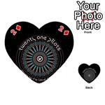 Twenty One Pilots Playing Cards 54 (Heart)  Front - Diamond2