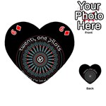 Twenty One Pilots Playing Cards 54 (Heart)  Front - Diamond6