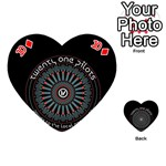 Twenty One Pilots Playing Cards 54 (Heart)  Front - Diamond10