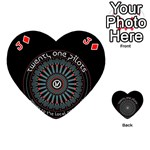 Twenty One Pilots Playing Cards 54 (Heart)  Front - DiamondJ