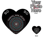 Twenty One Pilots Playing Cards 54 (Heart)  Front - ClubK