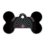 Twenty One Pilots Dog Tag Bone (One Side) Front