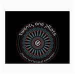 Twenty One Pilots Small Glasses Cloth (2-Side) Front