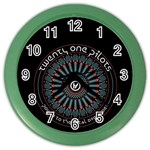 Twenty One Pilots Color Wall Clocks Front