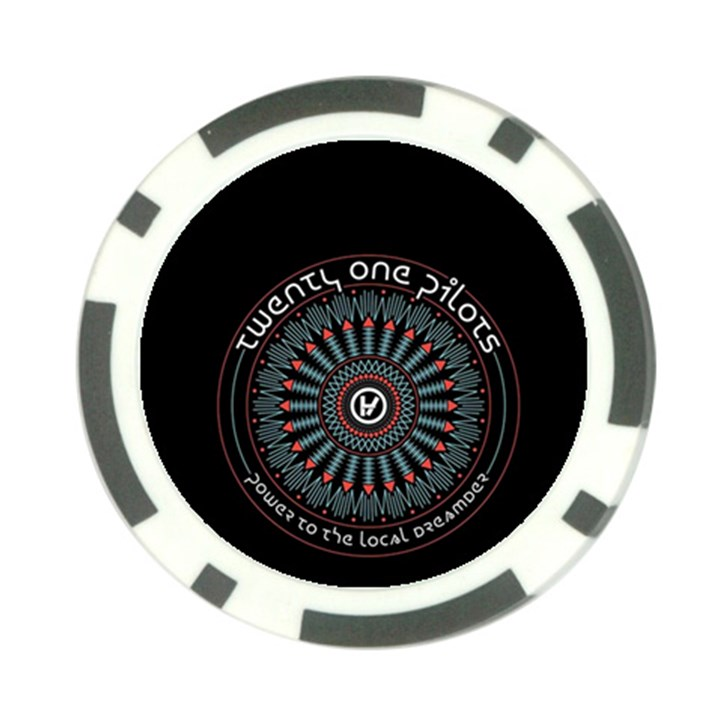 Twenty One Pilots Poker Chip Card Guards