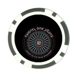 Twenty One Pilots Poker Chip Card Guards Back