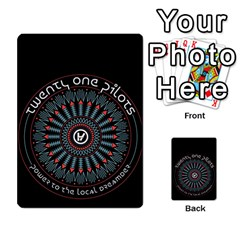 Twenty One Pilots Multi-purpose Cards (Rectangle)