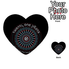 Twenty One Pilots Multi-purpose Cards (Heart)