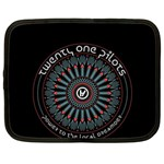 Twenty One Pilots Netbook Case (Large) Front