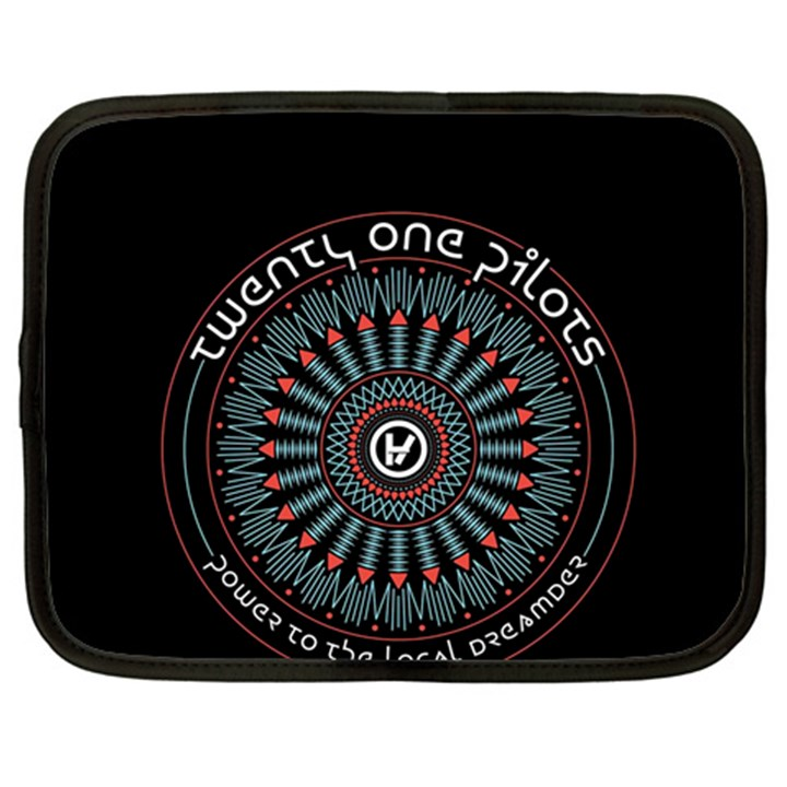 Twenty One Pilots Netbook Case (Large)