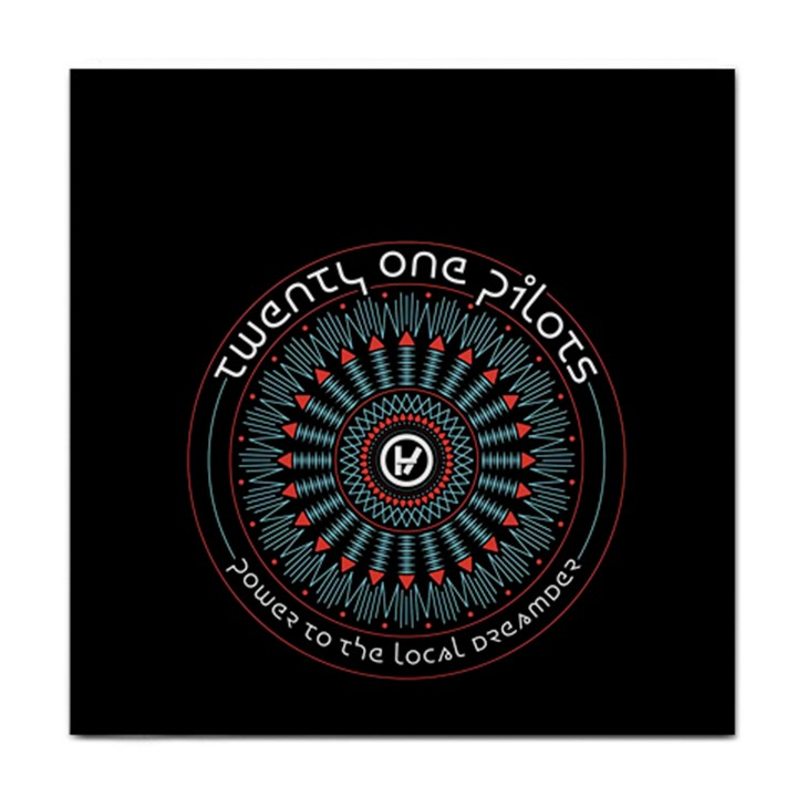 Twenty One Pilots Face Towel