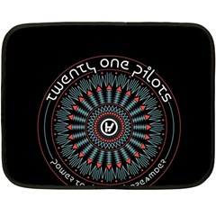 Twenty One Pilots Fleece Blanket (mini)