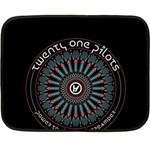 Twenty One Pilots Double Sided Fleece Blanket (Mini)  35 x27 Blanket Back