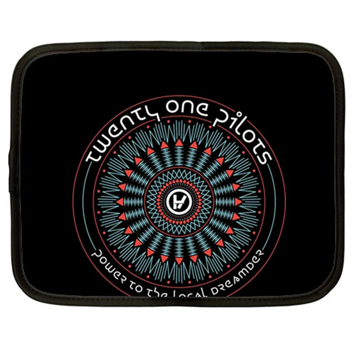 Twenty One Pilots Netbook Case (XL)
